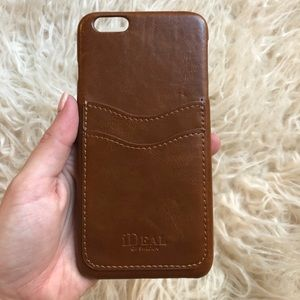 Accessories - Leather Wallet IPhone 6+ Case